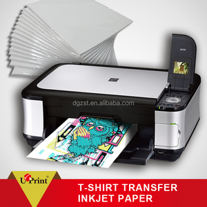 Real colors A4,a3 size Inkjet T-shirt Heat Transfer for cotton fabric with Dark and light Color