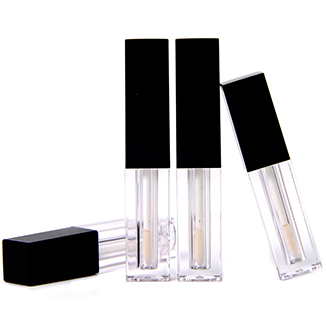 Luxury 8ml empty unique candy shaped lip gloss tube with wand
