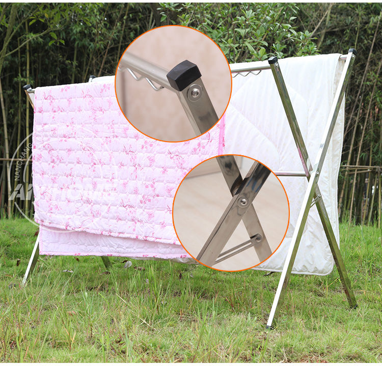 Outdoor Clothes Laundry Hanger Dryer Heavy Duty Movable