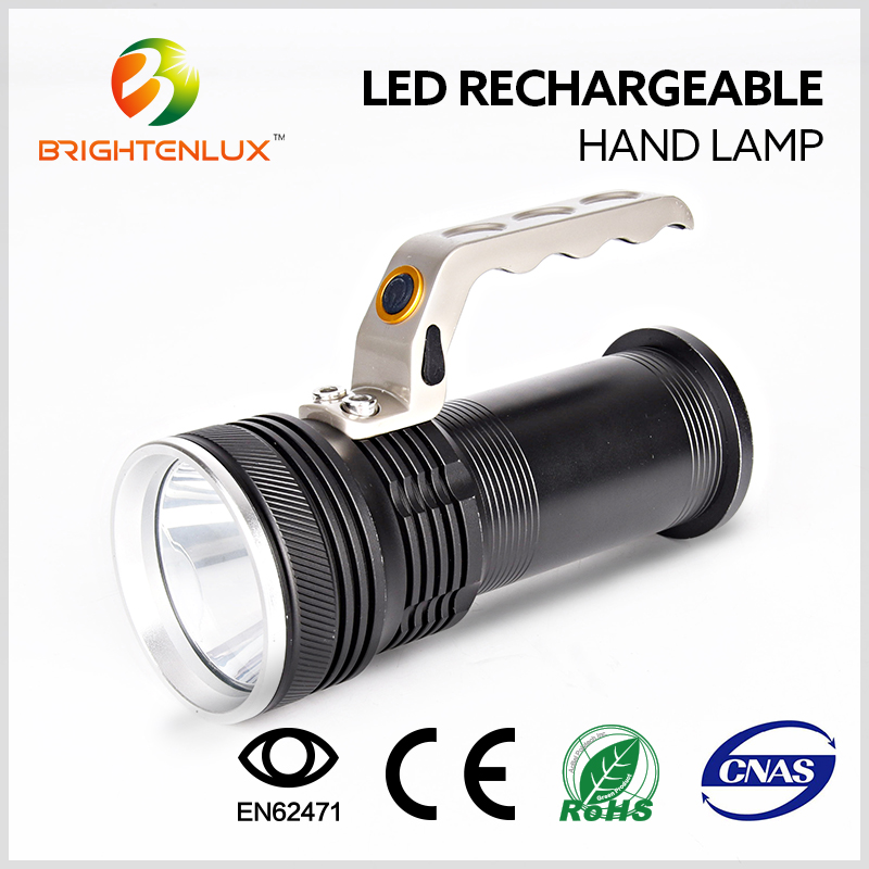 Top Selling Led Rechargeable Waterproof Spotlight/Hand Lamp /Search Light