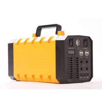 500W home & garden power lithium ion battery power station DC12V AC 110V 220V solar portable electric