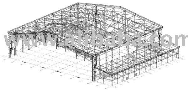 Hangar de avi es desenho f bricas e oficinas id do produto for Aircraft hanger designs