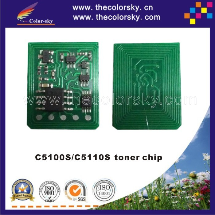 (TY-RC5100) reset laser printer toner chip for Ricoh Pro C5100S C5110S C 5100S 5110S 5100 5110 828350 828353 828351 828352 KCMY