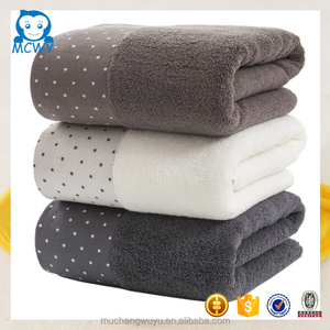 Wholesale custom design color baumwolle cotton bathing towel fabric rolls