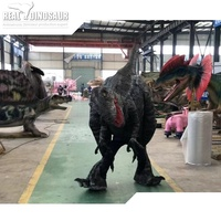 Jurassic Movie dinosaur decoration realistic dinosaur robotic costumes