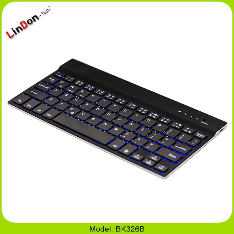 Led Wireless Bluetooth Keyboard For Ios/android/windows Tablet ...