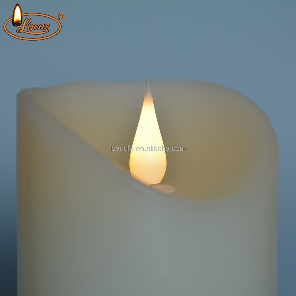 icandle led kerzen battery operated moving flame branded led candles