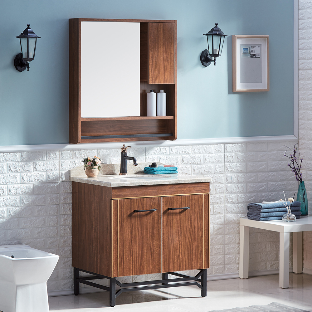 Wall Acrylic Bathroom Mirror Cabinet