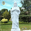 Life Size White Marble Stone Jesus Famous Sculptures For Sale