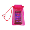 Plastic Pink Mobile Waterproof Bag XYL-D-W090