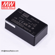 Meanwell Low Power Consumption 60W 24V 2.5A Power Supply Module-Type IRM-60-24