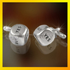 Laser Engraved Square Cufflinks For UK and US market