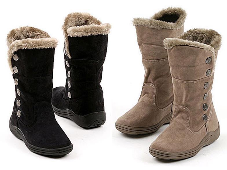 Girls-Snowboots-Children-Fashion-Warm-Winter-Black-Chamois