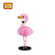 Collection Plastic Mini Cute flamingo Toys for Kids