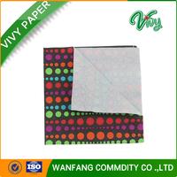 printed serviette tissue/ wedding napkin