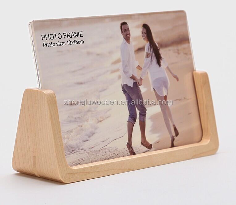 Venta al por mayor soporte de madera para marco de fotos-Compre ...
