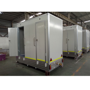 Prefabricated house / trailer mobile toilets