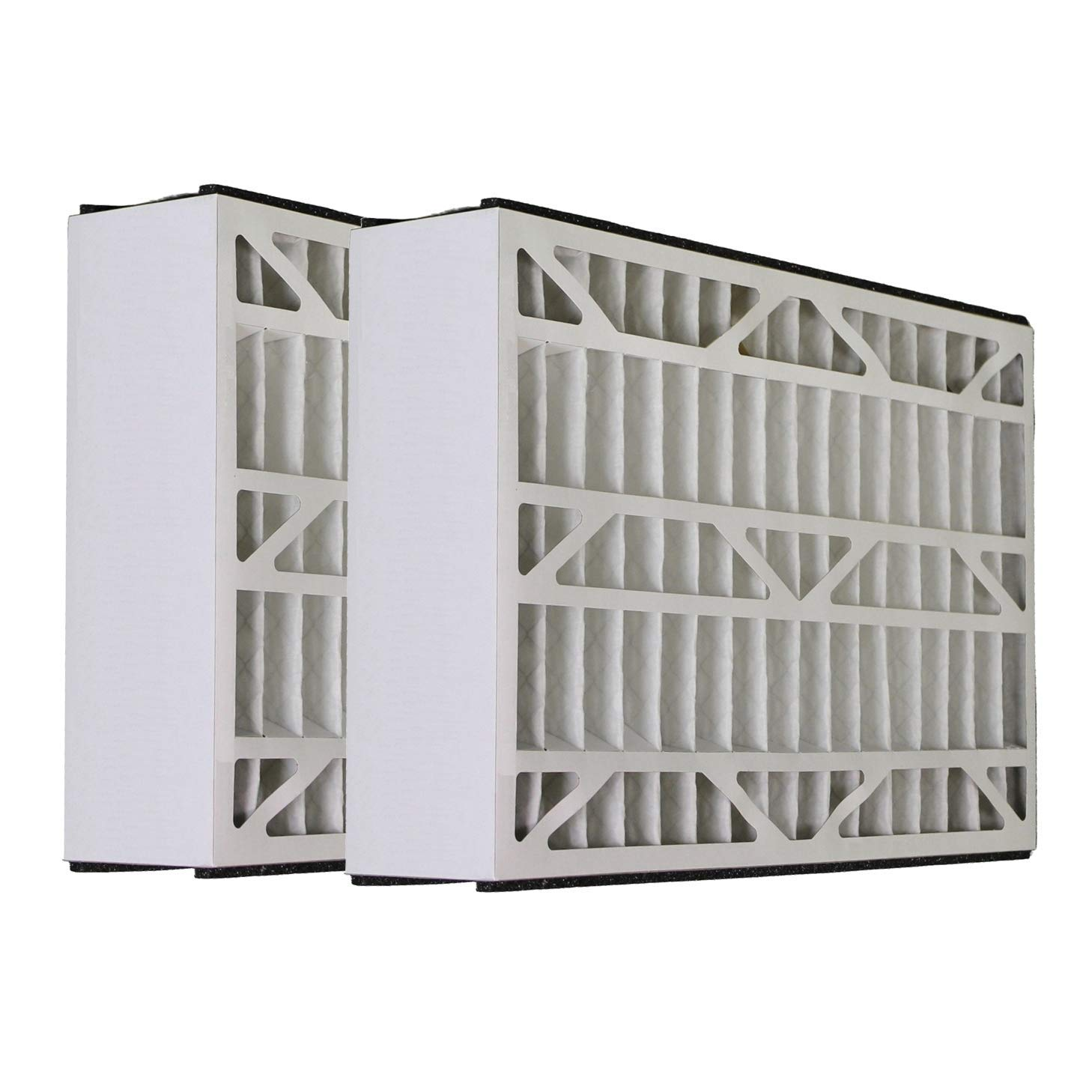 Tier1 Replacement for Lennox 20x25x5 Merv 8 X1152 Air Filter 2 Pack