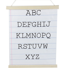 40*30 cm alfabet <span class=keywords><strong>letters</strong></span> canvas indoor <span class=keywords><strong>banner</strong></span> opknoping wanddecoratie