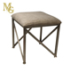 Modern Seat Dressing Ottoman Trestle Padded Foot Stool