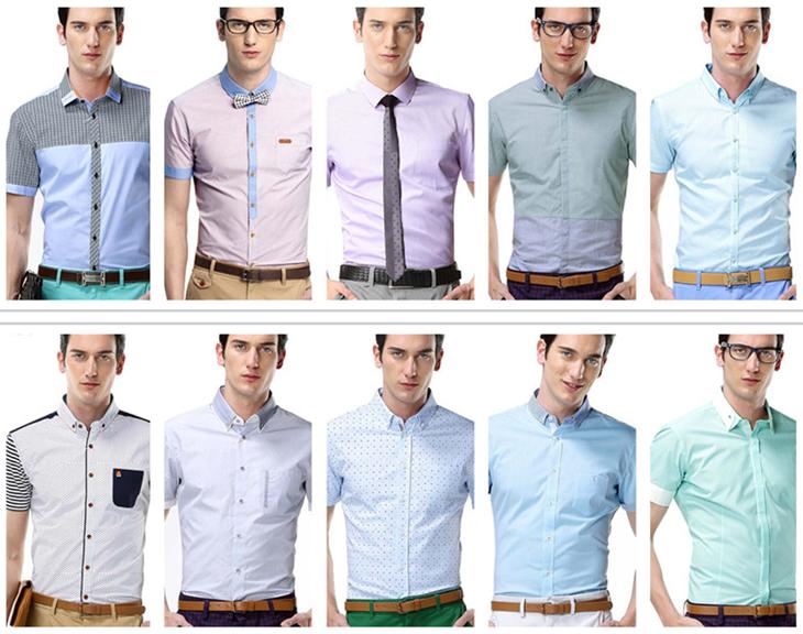 High Quality Model Mens Office Uniform Shirts