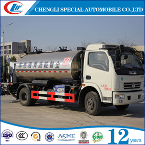 2 Axles Road construction reccovery truck bitumen Asphalt gravel synchronous distributor truck asphalt distributor trucks