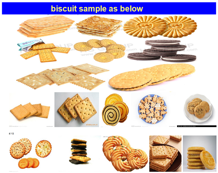 High Capacity Small Biscuit Factory Machiner Biscuit