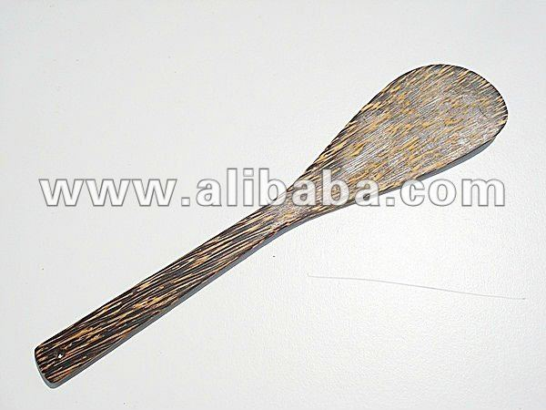 Wooden Cooking Spatula Palm Wood Utensils