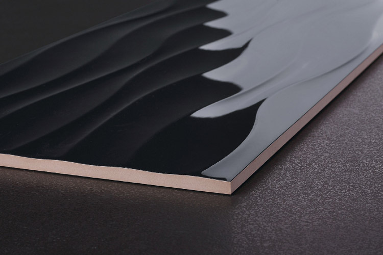 Color Black Wavy Tiles 300x600 Buy Wall Tile 300x600