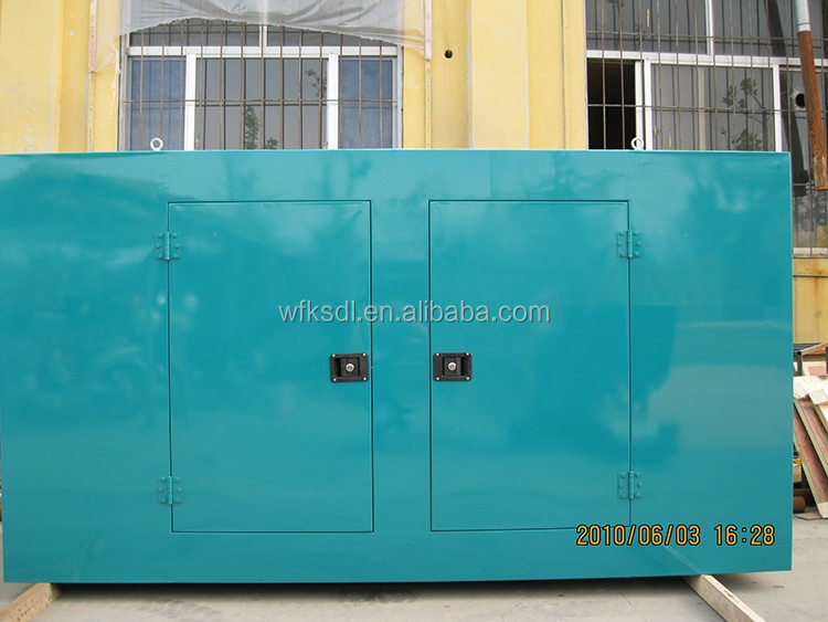 Low noise genset ricardo silent genset price for 13kw 16KVA 17hp