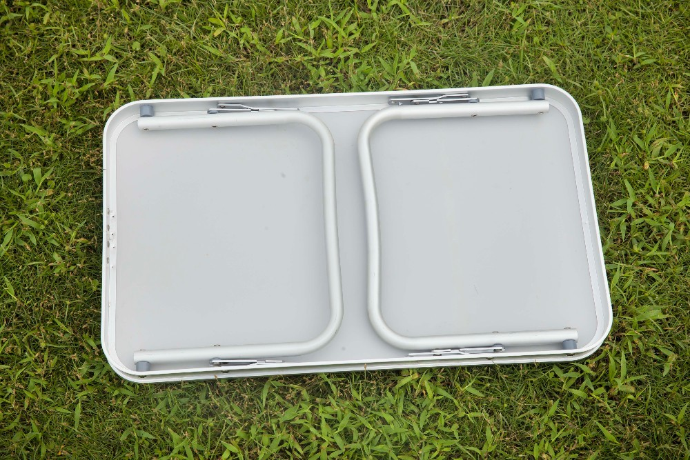 aluminium pliage table de pique nique m tal table pliante de camping r glable petite table. Black Bedroom Furniture Sets. Home Design Ideas