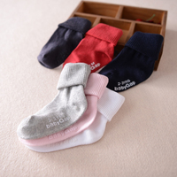 High Quality Children's Cuff Stockings Infants Non-slip Socks Baby 's Anti-slip Socks