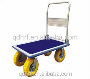 Factory price foldable platform handle push trolley PH310