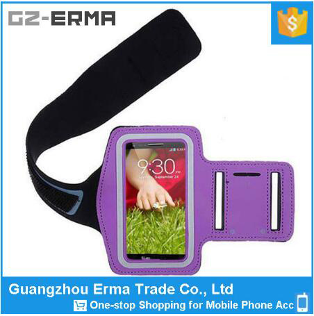 Universal 5.5 inch Mobile Phones Running Armband for LG G2 G3, Also Fit for 5.5 Inch Mobile Phone