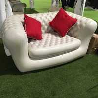 Promotional custom made pvc air filled inflatable sofa furniture