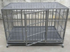 export dog cage with wheels
