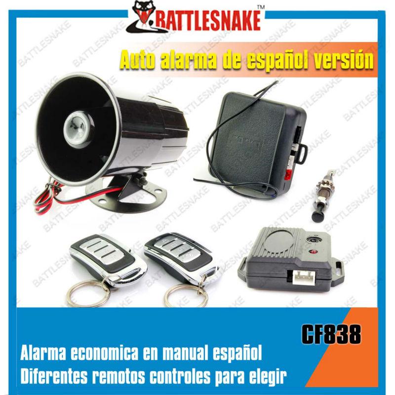 El sistema de alarma para carro o vehiculo-Alarmas de coches ...