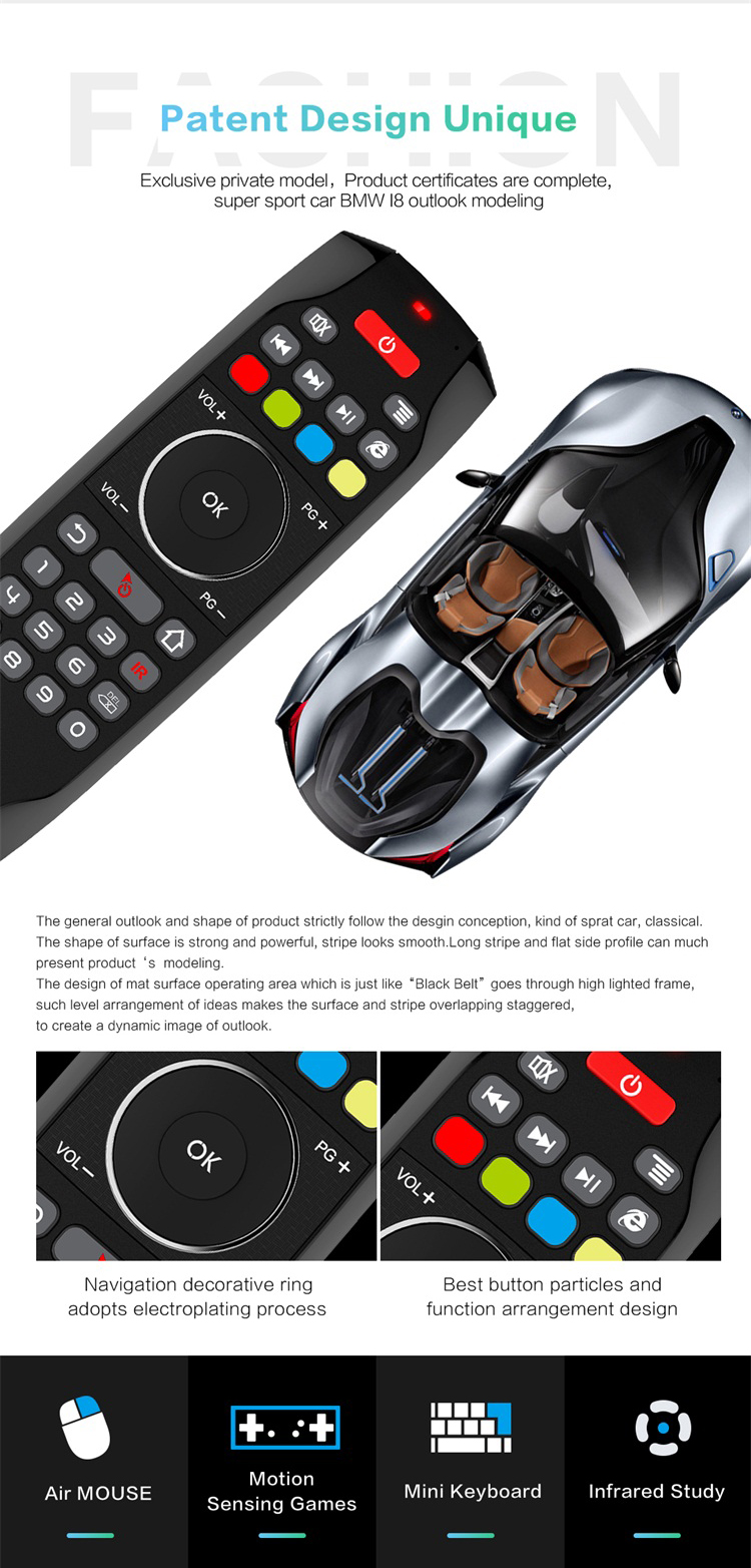 Desain Baru Agung Mode Max Tv Remote Control G7 Set Top Box Remote Control  Cocok Untuk Android,Jendela,Mac,Linux Os - Buy Set Top Box Remote