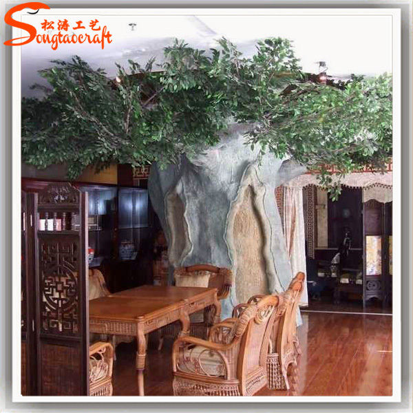 Life Size Cheap Artificial Big Trees Landscape Plastic