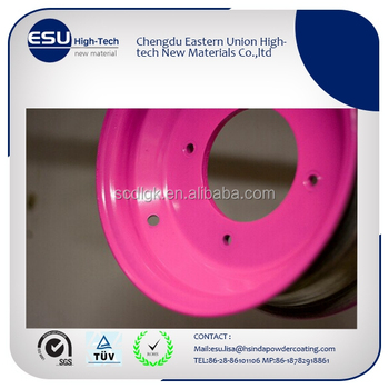 Neon Pink Uv Weather Resistant Polyester Tgic Powder Coating