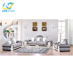 High End Elite Housing Home Sofa Couch Sets Living Room Furniture Sofa Italian Sofa Luxury