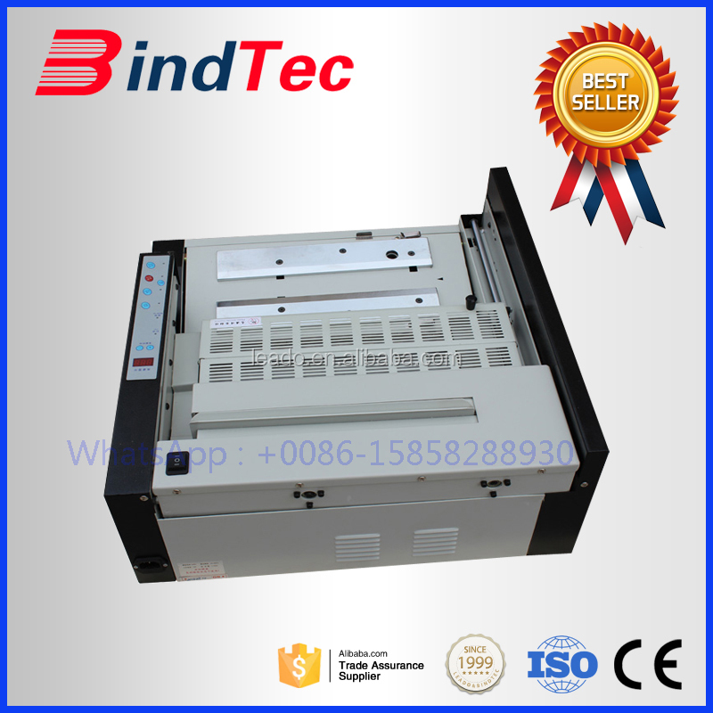 BD-380 Desktop Automatic Glue Binder Book Binding Machine