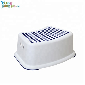 More Safe Waterproof Bathroom Step Stool Plastic Kids Toilet Stool