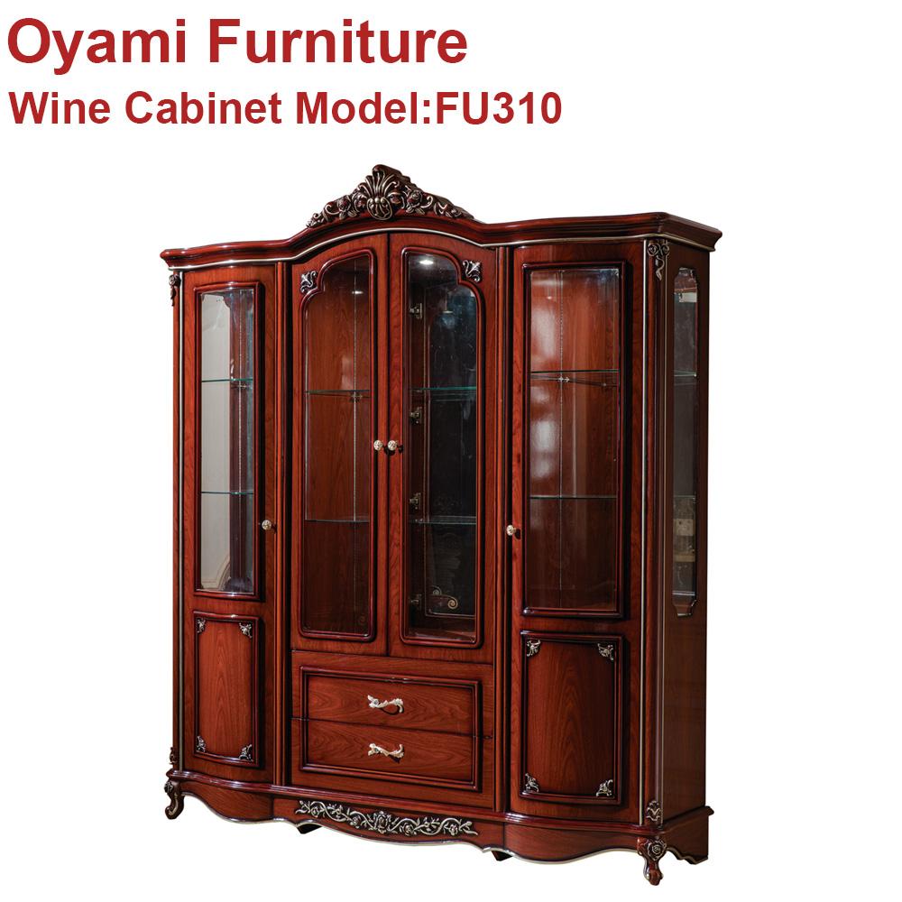 Made in china Antieke ontwerp Koninklijke hout eettafel set ...