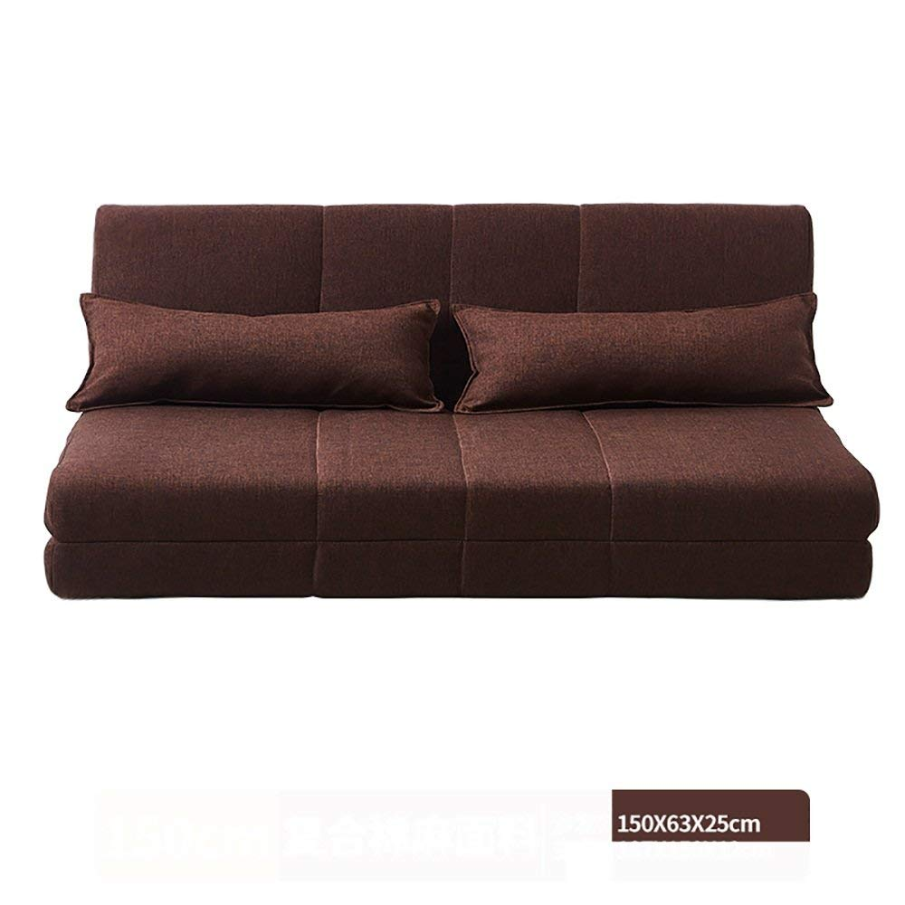 Get Quotations Xue Sofa Foldable Washable Wash Bed Simple Fabric 1 5 M