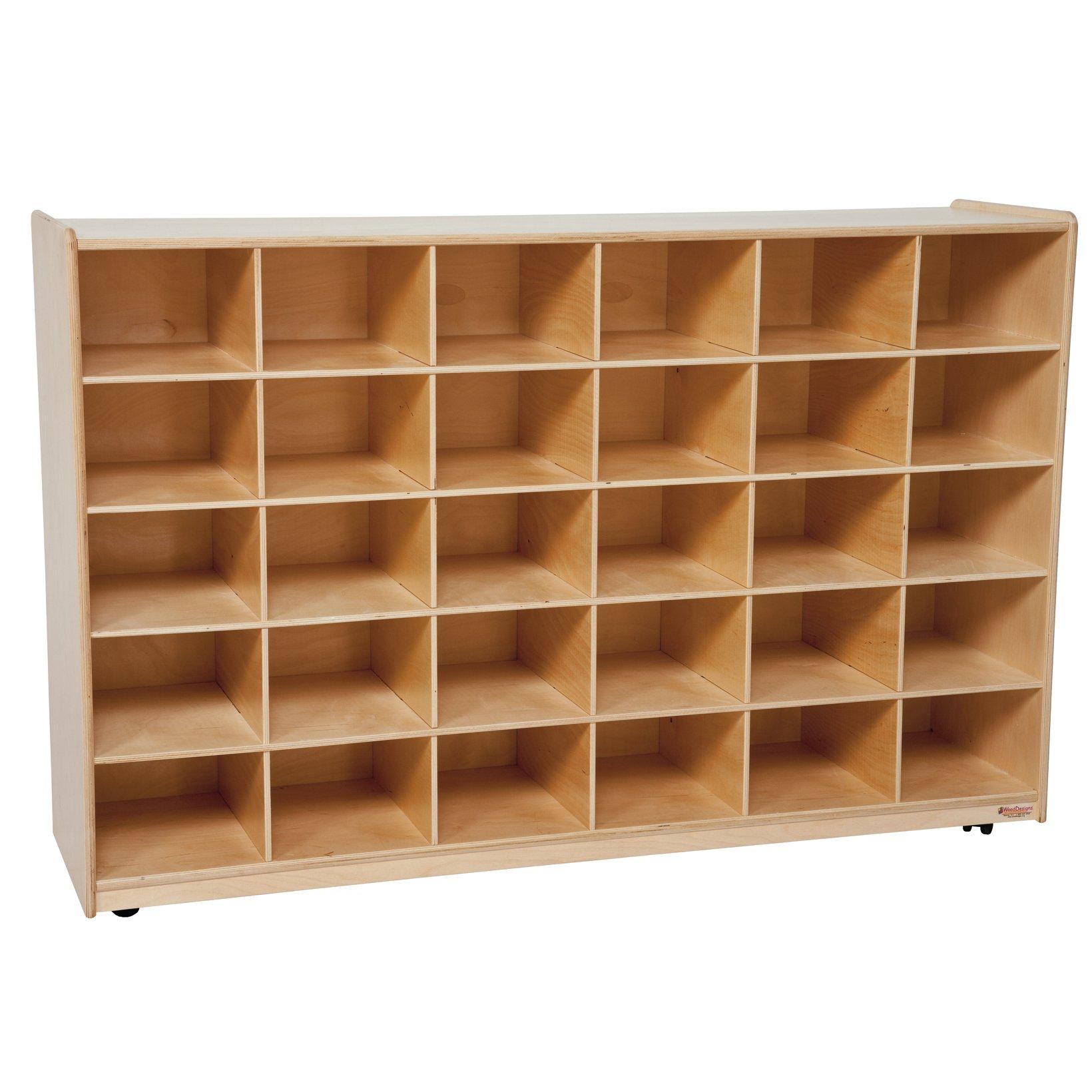 """Wood Designs WD16039 (30) Tray Storage without Trays, 36 x 58 x 15"""" (H x W x D)"""