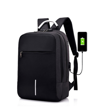 New Fashion Smart Design Multifunctional Smell Proof USB Anti Theft School Backpack Bag For Women