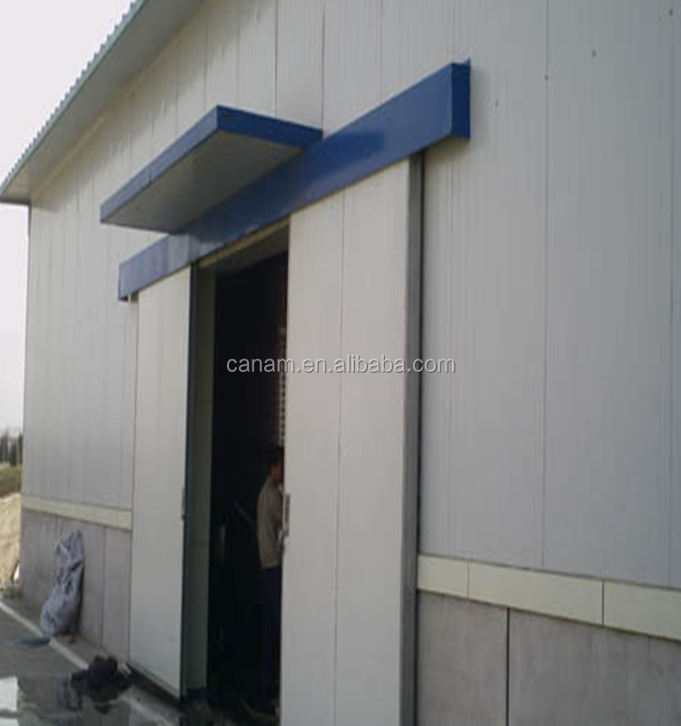 High speed industrial freezer auto rapid roll-up door