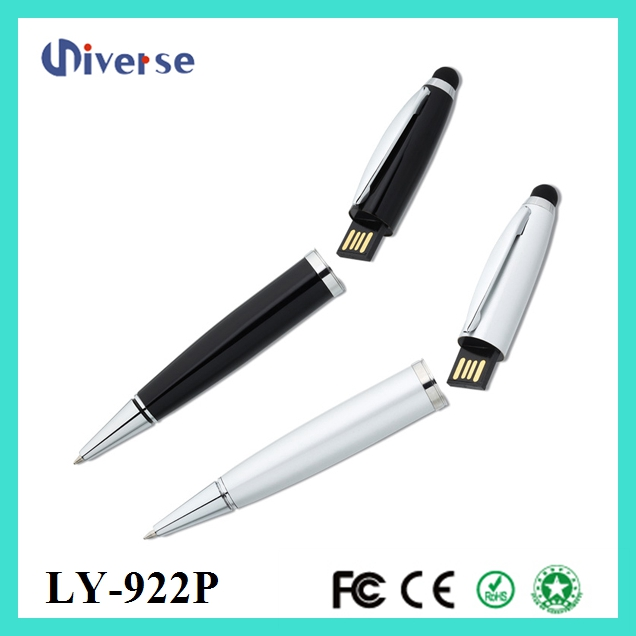 Laser usb flash drive laser pointer ball pen, High quality pen usb, Promotional cheap 1gb usb pen drive