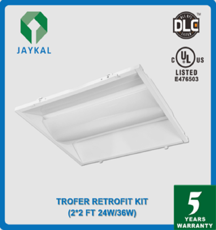 Led Troffer Light Ul Dlc Listed 2x2 2x4 Led Recessed Troffer Light ...